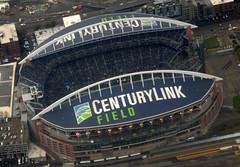 Game On (Sotosoroto) Tags: aerial seattle washington centurylinkfield clink seahawks stadium