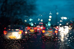 `Driving home. (Snipsnapper) Tags: weather rain wet windscreen winter roads driving drive journey travel