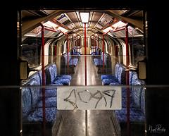 BETWEEN STATIONS 52 (Nigel Bewley) Tags: centralline london londonunderground londontransport thetube tube transport mindthegap tfl transportforlondon publictranport publictransport underground train unlimitedphotos londonist creativephotography december december2018 nigelbewley amateurphotographer appicoftheweek