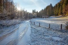 Hütte im Zauberwald (Obachi) Tags: berchtesgarden flickr ramsau zauberwald