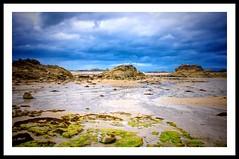Coefficient (G.Billon) Tags: seaside nikon nikond90 colors beachscape landscape beach bzh breizh bretagne 22 lancieux plage coefficient marée 382015 gbillon groupenuagesetciel
