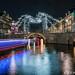 Spider on the bridge