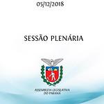Sessão Plenária 05/12/2018