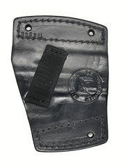 Springfield Armory Car Holster Back (americanleathersmith) Tags: carholster leatherholster gunholster concealcarry holster mounted leather