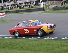 St Mary's Trophy - Explore 7/1/2019 (MJ Harbey) Tags: moritzwerner werner alfaromeogiulia1600gtacorse1965 gtacorse gta alfaromeo giulia alfaromeogiulia alfaromeogiulia1600 1965 stmarystrophy chicane goodwood revival goodwoodrevival goodwoodrevival2018 westsussex nikon d3300 nikond3300