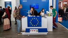 SILA 2018 : stand de la délégation européenne_ (Graffyc Foto) Tags: sila salon international du livre alger europe delegation union europeenne stand safex graffyc foto 2018 erasmus etudes algerie fujifilm x30