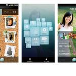 携帯電話機向けユーザーインターフェースの写真