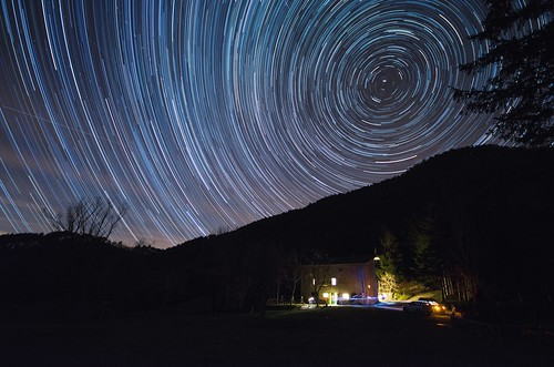 The last startrail of the year
