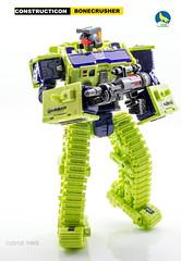 TW_Bulldozer_bot (Weirdwolf1975) Tags: tfylp transformers podcast toyworld xtransbots xtb crackup flipout breakdown wildrider shovel bulldozer crane bonecrusher hook scrapper