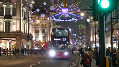 Christmas Is Calling For Cutbacks (londonbusexplorer) Tags: tower transit adl enviro 400 dn33783 sn12avz 23 aldwych westbourne park oxford street christmas lights 2018 tfl london buses