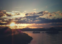 every sunset brings the promise of a new dawn... (undefinable moods) Tags: dawn sun sunset slhouette skyscape sky cloudscape clouds evening mountains walking paseo seascape sea water natureisanartist naturaleza bay colorful naturephotography nature paysage paisaje landscape