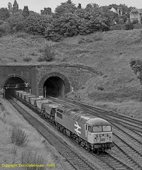 Empties for Oakdale (Don Gatehouse) Tags: britishrail br class56 56017 railfreight coal haahoppers newport tunnel oakdale doncaster gaerjunction freight güterzug fret