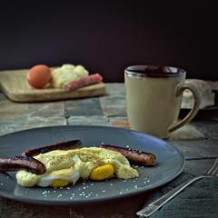Keto Eggs Benedict (williamsgary92) Tags: food eggs coffee breakfast keto nikon d3300