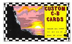 14400550 (myQSL) Tags: cb radio qsl card 1970s