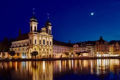 Luzern (KieGe) Tags: schweiz luzern 5dm3 blauestunde