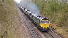 Killy Collier (JohnGreyTurner) Tags: br rail uk railway train transport 66 class66 diesel engine locomotive lincolnshire freight hoppers fl freightliner shed northkillingholme