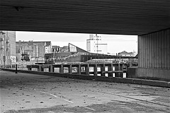 Views on The River Hull  Monochrome (brianarchie65) Tags: riverhull river hull anchor fish bridge posts walkway monochrome blackandwhite blackandwhitephotos blackandwhitephoto blackandwhitephotography blackwhite123 blackwhiterealms flickrunofficial flickr flickrcentral flickruk flickrinternational ukflickr unlimitedphotos ngc kingstonuponhull canoneos600d geotagged brianarchie65