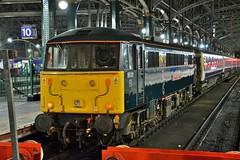 Glasgow. (Sneeze82) Tags: 86101 caledoniansleeper class86 glasgowcentral gbrf