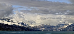 Nature's Majesty (brucecarlson66) Tags: glacier bay alaska united states national park preserve monument world heritage site holland america cruise line vacation ice rock sun sunshine snow mountain water sea aquamarine turquoise amazing view vista nature cloud storm majesty