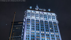 Helmsley Building (20190112-DSC04276) (Michael.Lee.Pics.NYC) Tags: newyork helmsleybuilding metlifebuilding parkavenue night moon sky clouds lookingup architecture sony a7rm2 fe24105mmf4g