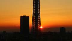 Skytree Sunrise (Bens-Lens) Tags: tokyoskytree skytree tokyo japan japanese wet pussy cats wetpussy tower asakusa asakusaviewhotel kanda sunrise ueno hakuba nagano toyota corolla tsugaike kogen happo carp koi burton samsung s5 train shinkansen eatingnoodles nippon japow prefecture