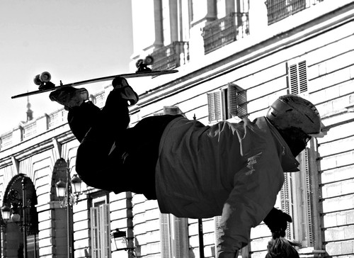 """FLOTANTE"" PLAZA DE ORIENTE, MADRID  8726 3-2-2019 BN"