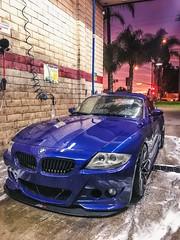 BMW E85 Z4M M Roadster Voltex Type 7.5 Swan Neck Hamann Rieger VMR Wheels V801 APR Performance Splitter (violetnites) Tags: bmw e85 z4m m roadster voltex type 75 swan neck hamann rieger vmr wheels v801 apr performance splitter
