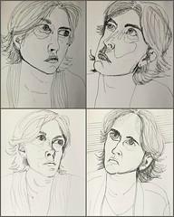 4x Anna (Gila Mosaics n'stuff) Tags: portrait art artist portraitparty jkpp pen picmonkey