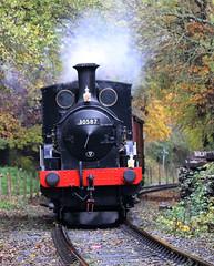 30587 0298 Class Beattie 2-4-0WT, Avon Valley Railway, Willsbridge, Gloucestershire (Kev Slade Too) Tags: 30587 0298class beattie 240wt avonvalleyrailway willsbridge gloucestershire