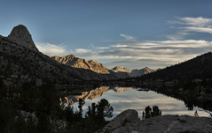 Rae Lakes Morning Mood (speedcenter2001) Tags: sierra sierranevada highsierra california nationalpark kingscanyon kingscanyonnationalpark hiking backpacking backcountry wilderness mountains johnmuirtrail jmt outdoor outside adventure ngc