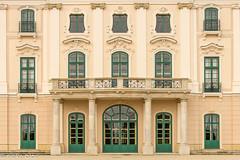 Balconies-5 (niekeblos) Tags: balcony palace hungary building backfacade windows doors canon60d
