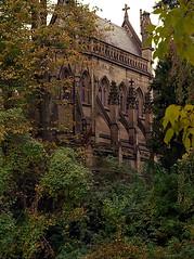 "Cincinnati - Spring Grove Cemetery & Arboretum ""Dexter Mausoleum Inside Summer Green"" (David Paul Ohmer) Tags: cincinnati ohio spring grove cemetery arboretum dexter mausoleum gothic"