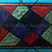 """Stain Glass Window"" by Jordan D, acrylic, NFS"