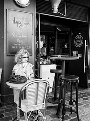 Waiting for happy hour (robert.walter) Tags: streetphotography street streetmoments streetlife streetphoto streetphotographers streetview bnwstreet 35mmstreetphotography paris