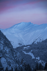 Aurore Alpine (JimDel Photographies) Tags: montagne moutains vanoise landascape paysage sunrise alpes alpinelight winter hiver blanc rose neige