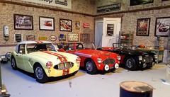 1:18 Austin Healey race & rally car (www.MODELCARWORKSHOP.nl) Tags: historicracecar vintagerallycar austinhealey bighealey rally race modecarworkshop diecast kyosho custom bespoke