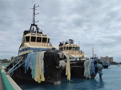 Nassau, Bahamas, Day 3 -- Caribbean Cruise Vacation, Fishing Boats in the Harbor (Mary Warren 12.9+ Million Views) Tags: nassaubahamas cruise hollandamerica veendam harbor boats fishingboats