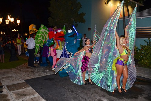 Muppets In The Junkanoo Parade