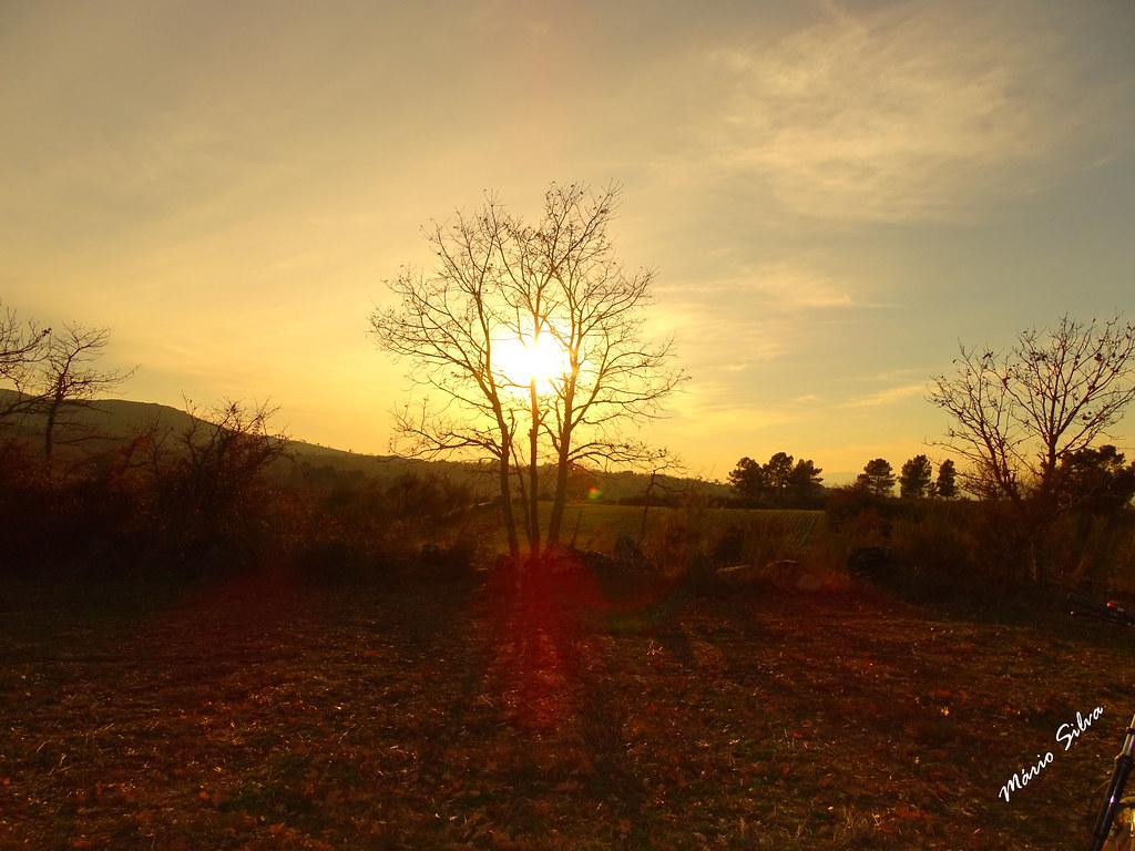 Águas Frias (Chaves) - ...pôr do sol invernio ...