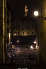 Lights of Florence (eskstreetph) Tags: canon eos550d kseniaeskstreet lights lightpainting streetlamp streetforniture florence arno palazzovecchio view outdoor tripod longexposure travelphoto travel travelphotography architecture tower ancient