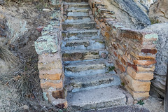 Stone Staircase Built by Civil Works Administration in El Morro National Monument (Lee Rentz) Tags: antiquitiesact atsinnapueblo cwa cibolacounty civilworksadministration coloradoplateau elmorro elmorronationalmonument headlandtrail inscriptionrock mesatoptrail newmexico staircase theodoreroosevelt trailoftheancientsbyway america americanwest archaeological archaeology cultural culture desert dry fdr greatdepression historic history horizontal landscape masonry nature northamerica oasis path pathway pool promontory rock sandstone source southwest stairs stairway steps stone trail usa water wateringhole west