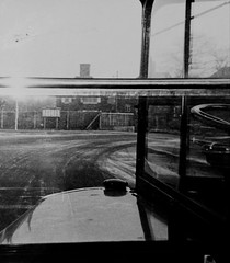 Everybody's favourite seat on an RT bus 1960's. (Ledlon89) Tags: rt rtbus aecregent regent aec parkroyal londontransport lt lte londonbus londonbuses eltham vintagebus bonnet passenger 1960s southlondon