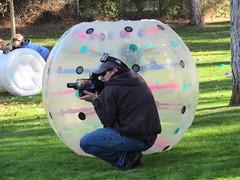 [Suggest a caption] (jamica1) Tags: rutland scarecrow festival lions park kelowna bc british columbia canada laser tag