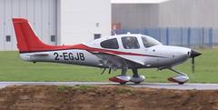 Cirrus SR22 2-EGJB Lee on Solent Airfield 2019 (SupaSmokey) Tags: cirrus sr22 2egjb lee solent airfield 2019