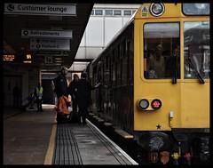 975025 (Lewis_Hurley) Tags: station midlandmainline mml leicester leicestershire england uk railway train inspectionsaloon saloon carriage coach caroline 975025