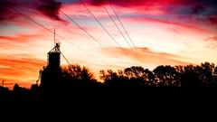 Atardecer en La Pampa 1 (Martin Antolin PH) Tags: paisaje landscape sunset sunrise atardecer contraste highcontrast altocontraste contraluz color sky pink orange