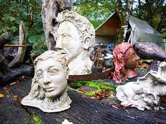 Teste / heads (Vincenzo Elviretti) Tags: laboratorio dartista natale mirti olevano romano roma provincia di italia testa teste head sculture scultura opera darte