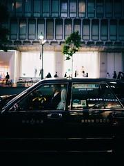 Tokyo urbanstreet (31lucass shots) Tags: japantaxi street travel tokyo fe28mmf2 sonya7 sonycamera snapshots sonyimages streetsnap streetview primelens nightview cityscape captureone japan
