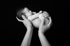 My newborn son [Explored] (BP Chua) Tags: monochrome blackandwhite people newborn baby child children nikon d850 boy infant 8daysold 50mm fatherhood parent explore singapore nikonsg human