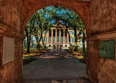 College of Charleston (Gary Heaton) Tags: charleston cofc collegeofcharleston cistern randolphhall lowcountry historic sc southcarolina